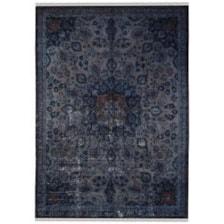 فرش دستبافت رنگ شده هشت متری طرح وینتج کد 9811105