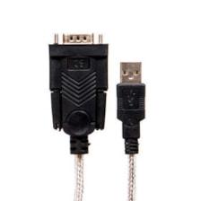 کابل تبدیل  USB به سریال RS232 دی نت مدل DT-999 طول 1.5 متر