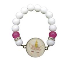 دستبند دخترانه طرح پونی کد 073