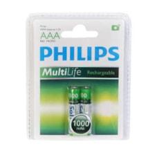 باتری نیم قلمی قابل شارژ فیلیپس مدل Multi Life بسته 2 عددی