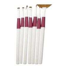 قلم موی طراحی ناخن مدل G_13 بسته 7 عددی
