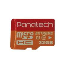 کارت حافظه microSDHC پاناتک مدل Extreme کلاس 10 استاندارد UHS-I U1 سرعت 30MBps ظرفیت 32 گیگابایت