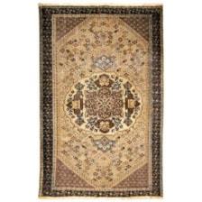 فرش دستبافت رنگ شده دو و نیم متری طرح وینتج کد 18195