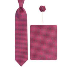 ست کراوات و دستمال جیب و گل کت مردانه جیان فرانکو روسی مدل GF-PO619-BE