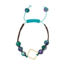 دستبند طلا 18 عیار زنانه آلند کد TD60