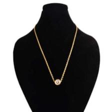 گردنبند طلا 18 عیار زنانه کد 67040