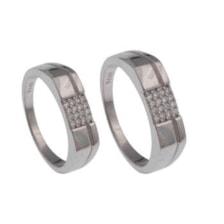 ست انگشتر نقره زنانه و مردانه کد 2431
