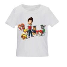 تی شرت بچگانه طرح سگهای نگهبان کد TSb162