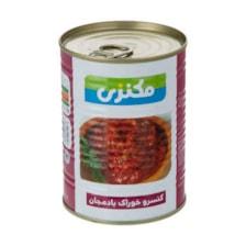 کنسرو خوراک بادمجان مکنزی - 380 گرم