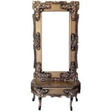 آینه وکنسول مدل گلباران کد 3084546