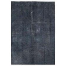 فرش دستبافت رنگ شده هشت متری طرح وینتج کد 15117