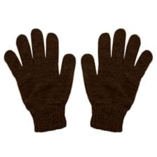 دستکش بافتنی مردانه کد SH1260 رنگ قهوه ای