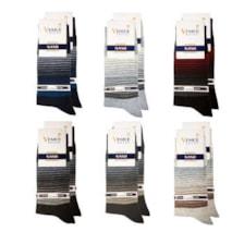 جوراب مردانه ونیز کد AL-V3 مجموعه 12 عددی