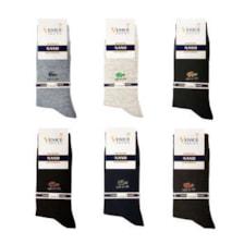 جوراب مردانه ونیز کد AL-V2 مجموعه 6 عددی            غیر اصل