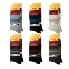 جوراب مردانه ونیز کد AL-V5 مجموعه 12 عددی