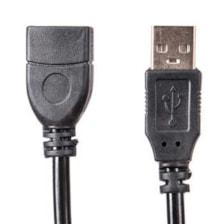 کابل افزایش طول USB2.0 ام پی ام مدل Slinker طول 3 متر