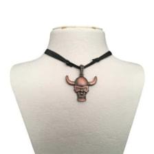 گردنبند مردانه طرح جمجمه کد gt19