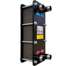 مبدل حرارتی صفحه ای آذرتهویه سازان مدل TA4-M30