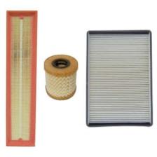 فیلتر هوا خودرو سرکان مدل SF1223 به همراه فیلتر روغن و فیلتر کابین مناسب برای پژو پارس TU5