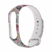 بند طرح گل مدل Garden01 مناسب برای مچ بند هوشمند شیائومی Mi Band 3 Mi Band 4