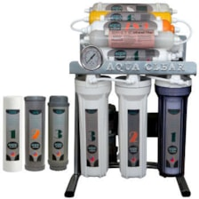 دستگاه تصفیه کننده آب آکوآ کلیر مدل CHROME - AC5800 به همراه فیلتر مجموعه 3 عددی