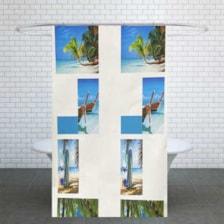 پرده حمام کد G70 سایز 180x180 سانتی متر