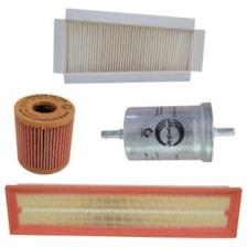 فیلتر هوا خودرو سرکان مدل SF1223 مناسب برای رانا به همراه فیلتر روغن و فیلتر کابین و فیلتر بنزین