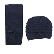 ست کلاه و شال گردن مردانه کد 8210