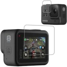 محافظ صفحه نمایش و لنز مدل GP8 مناسب برای دوربین های ورزشی گوپرو Hero 8
