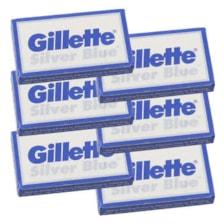تیغ یدک ژیلت مدل سیلور بلو مجموعه 6 عددی