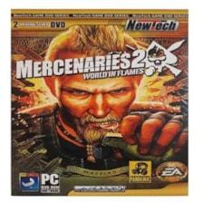 بازی mercenaries 2 مخصوص pc
