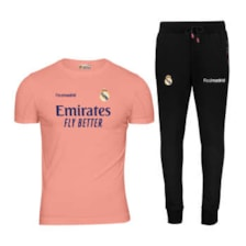ست تی شرت و شلوار ورزشی مردانه پاتیلوک طرح رئال مادرید کد 400103