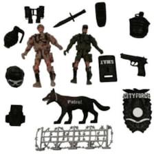 ست اسباب بازی جنگی مدل HW-M2 بسته 14 عددی