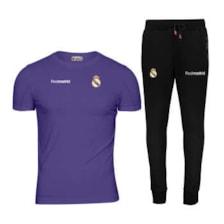 ست تی شرت و شلوار ورزشی مردانه پاتیلوک مدل رئال مادرید کد 400104