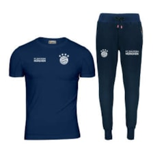 ست تی شرت و شلوار ورزشی مردانه پاتیلوک مدل بایرن مونیخ کد 400105