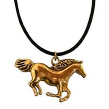 گردنبند مردانه مدل اسب کد ASB09