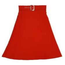 دامن زنانه مدل dkakmg رنگ قرمز