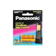 باتری نیم قلمی قابل شارژر پاناسونیک مدل P-01 بسته 6 عددی
