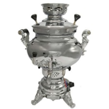 سماور گازی پژمان کد 20103 گنجایش 6 لیتر