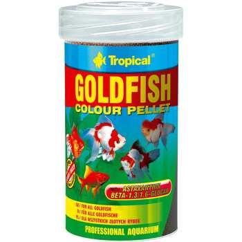 غذای ماهی تروپیکال مدل Goldfish Colour Pelet وزن 90گرم