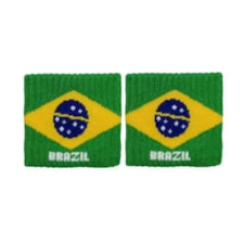 مچ بند ورزشی طرح برزیل بسته 2 عددی