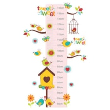 متر اندازه گیری کودک طرح پرنده های خوشحال کد 01