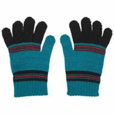 دستکش بچگانه مدل GR01 رنگ سبز آبی