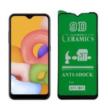 محافظ صفحه نمایش 9D مدل CRA-A01 مناسب برای گوشی موبایل سامسونگ Galaxy A01  M01