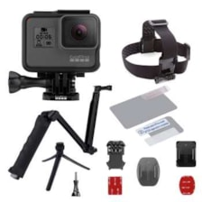 مجموعه دوربین فیلم برداری ورزشی گوپرو مدل HERO5 Black Quick Stories همراه با اکسسوری پلوز