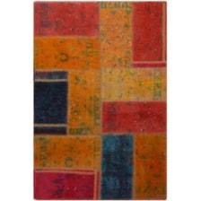 کلاژ فرش دستبافت یک متری فرش هریس کد 101612