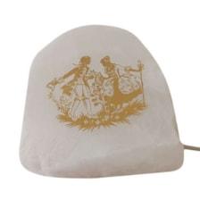 آباژور سنگ نمک مدل رومئو و ژولیت کد ARJ01