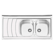 سینک ظرفشویی ایلیا استیل مدل 1044