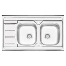 سینک ظرفشویی ایلیا استیل مدل 3051 روکار