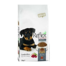 غذای خشک سگ رفلکس مدل puppy وزن 15 کیلوگرم